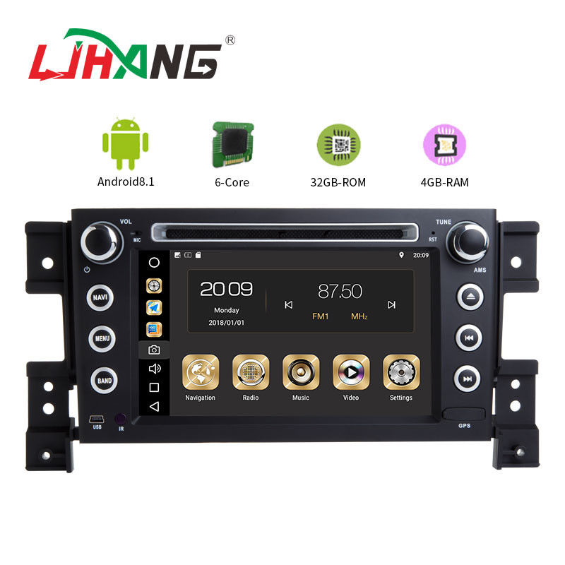 MP3 MP4 USB SD GPS SUZUKI Car DVD Player Double Din Head Unit Support TPMS