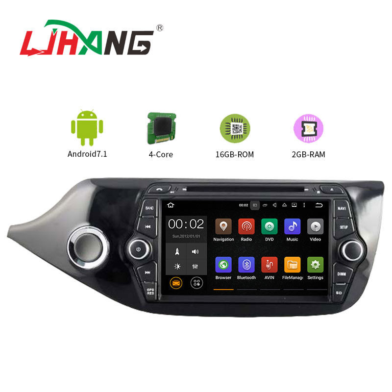 7 Inch Car Stereo That Works With Android , KIA CEED Bluetooth DVD Player For Car